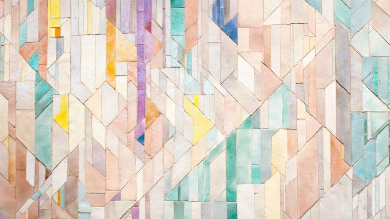 spaanplaat mozaiek